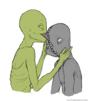 Monsters deserve love too by Milay