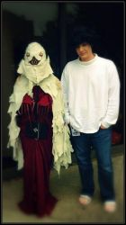 Sidoh and L From Death Note by Satanizmihomedog