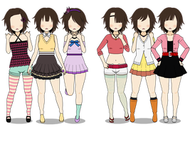 City Girl Casual Outfits by PrincessStormy