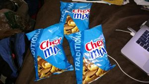 Three Chex Mix Bags by OtakuDude83