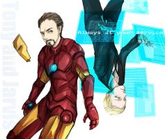Tony and Jarvis by resave