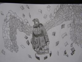 Konan with Paper Wings by aNiMe0919