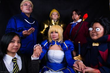 Fate/Zero: Masters and Servants by ninjapeps