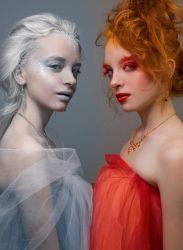 Queens of Ice and Fire by ScorpionEntity