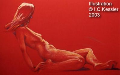 Red Nude by ickessler