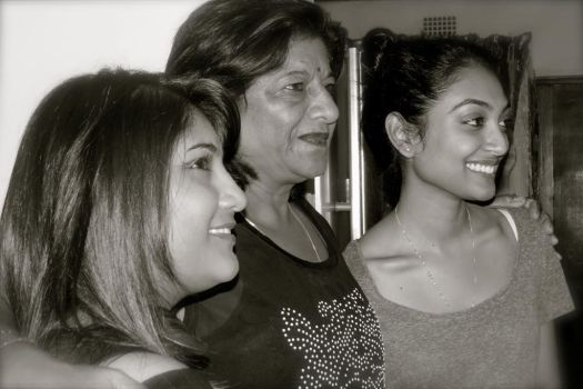 Ma and her grand daughters by notalone710