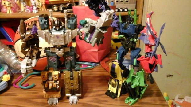 combiner wars and fall of cybertron bruticus by megumbreon