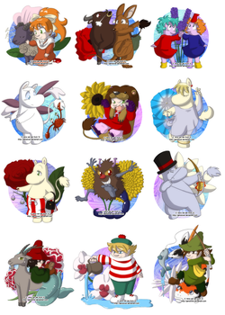 Moomin Zodiac by Genolover