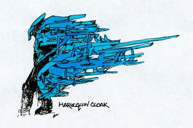 the harlequin's cloak by fractos