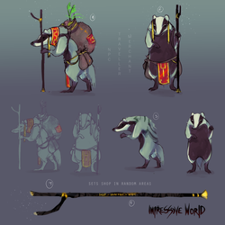 Badger Concept 1 by Vegaven