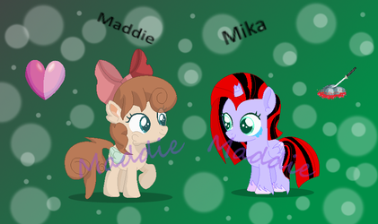 Nice To Meet You! (random gift for SR16) by PonyPainterMaddie