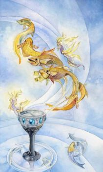 Tarot - Ace of Cups by puimun