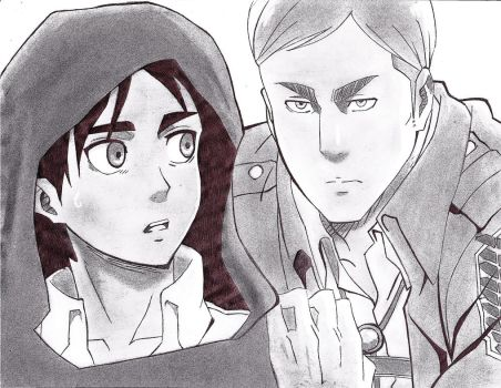 eren y irvin by pipardo