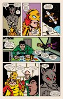 Lady Spectra and Sparky: Star Tomb pg.11 by JKCarrier