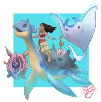 Moana Pokemon Trainer