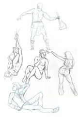 Figure Drawings by lanerp