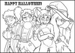 Happy Halloween 2013 - Color it! by Raygirl13