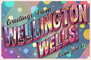 We the Happy Few - greetings from Wellington wells by FsMaverick