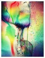 Rainbow Shower by byCavalera