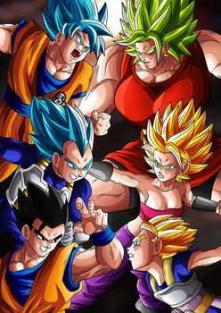 Clash of the Saiyans by Goku-Kakarot