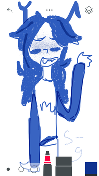 drew this with my finger by salty-grapefruits