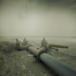 Toxic city by Alshain4