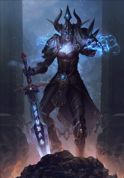 Deathlord Martinezdark by InaWong