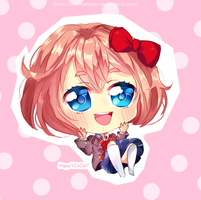 [DDLC] Sayori [+ SPEEDPAINT] by HappYEnDay