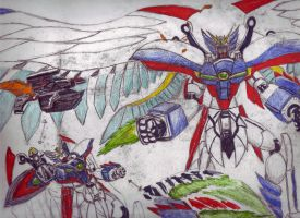 wing zero-x by megamike75
