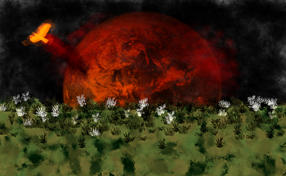 From this burning world by PhoenixWerthan