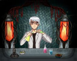 Evil twin's evil experiment by CheshireP