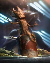 Baby Groot by capprotti