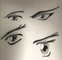 anime eyes by ralamantis