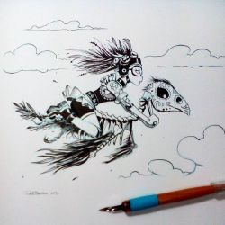Inktober2015 day 5 by raultrevino