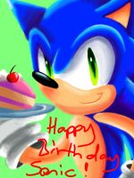 Happy 21st Birthday Sonic x3 by Sonicbandicoot