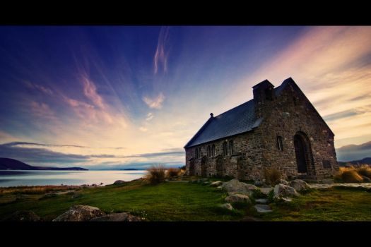 Church of the Good Shepherd by elgarboart