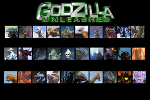 Godzilla - Unleashed by Daizua123