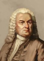 Portrait project in genealogy for Bach #5 by caophongart