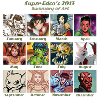 2013 Art Summary Meme by SuperEdco