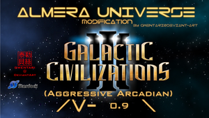 Galactic Civilizations 3 AU Mod by Gwentari