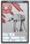AT-AT by jjrrmmrr