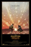 THE PHANTOM MENACE Movie Poster by Alistair-Rhythm