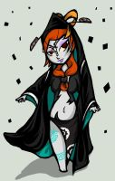 Midna - Wind Waker Style by Lenecian9