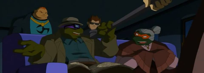 Turtles in witness protection program by Through-the-movies