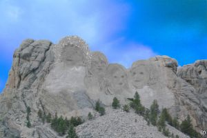 The Mount Rushmore of Chronophontia by Chronophontes