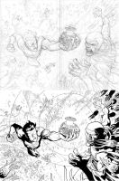 Invincible 41 double pager by RyanOttley