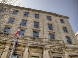 Old Watertown Post Office HDR by Lectrichead