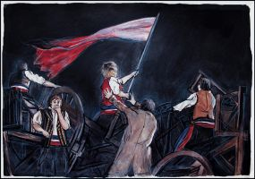 To The Barricades! by SallyGipsyPunk