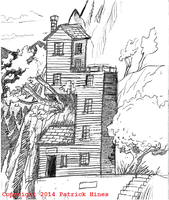 Mountainside Cabin by CaptainRedblood
