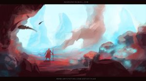 Red Planet by FlerPainter